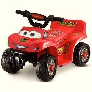 Disney•Pixar Cars Lightning McQueen Quad Ride-On